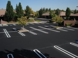 New Parking Lot Paving job completed in Northern Neck, Virginia