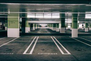 Paved multi story parking lot in Northern Neck, Virginia - Northern Neck Asphalt Paving